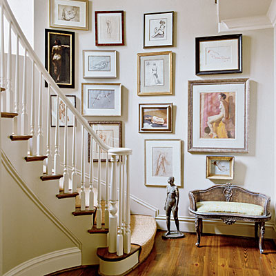 26. southern accents gallery wall